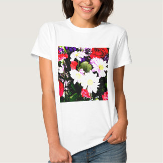 Flowers - Watercolor T Shirt