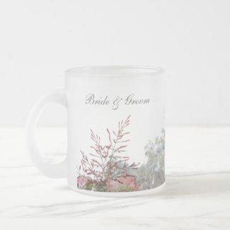 Flowers Wedding Favor Mug mug