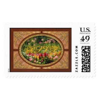 Flowers - Wild Flowers Postage Stamp
