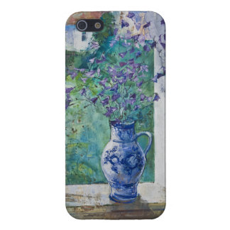 Flowers with Cottage Stanislav Stanek Cover For iPhone SE/5/5s