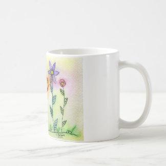 Flowers with Halos Mugs