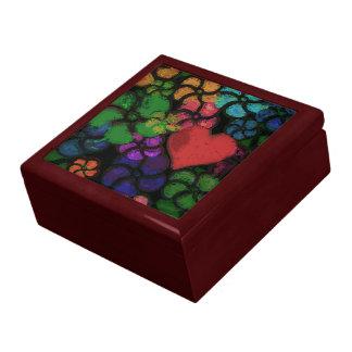 FLOWERS WITH HEART Keepsake Box