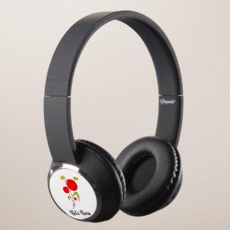 Flowers with Hearts Headphones