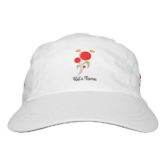 Flowers with Hearts Headsweats Hat