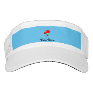Flowers with Hearts Visor