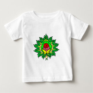 Flowers wreath floral wreath baby T-Shirt