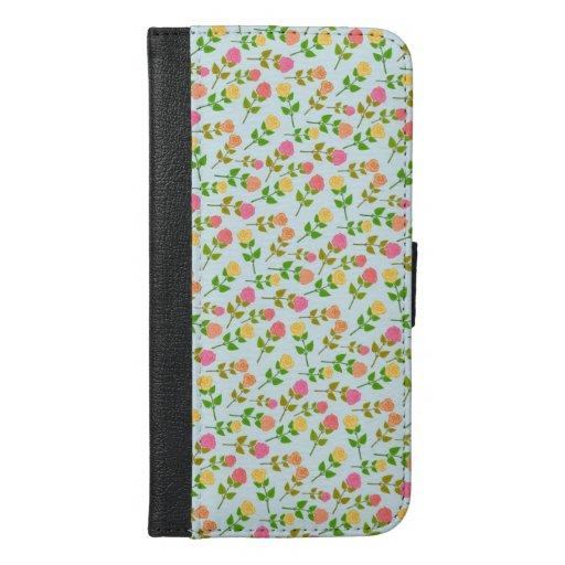 Flowers | Zazzle_Growshop. iPhone 6/6s Plus Wallet Case