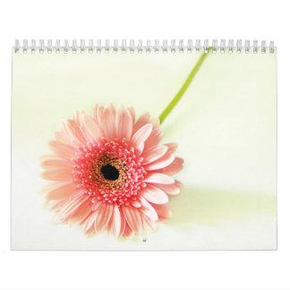 Flowerss Calendario De Pared