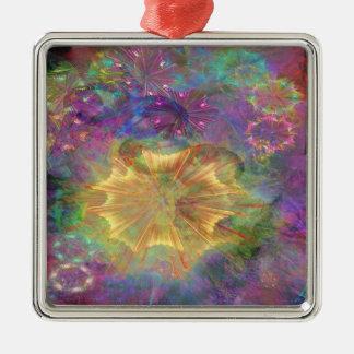 Flowerworks Metal Ornament