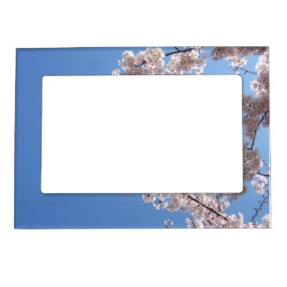 flowery arty tree magnetic picture frame