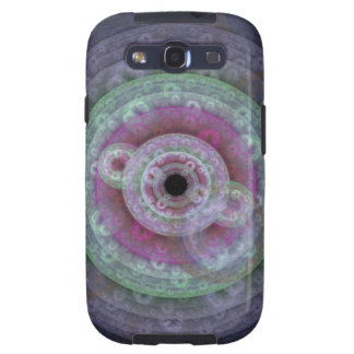 Flowery Circular Fractal Case for Samsung Galaxy Galaxy S3 Cases