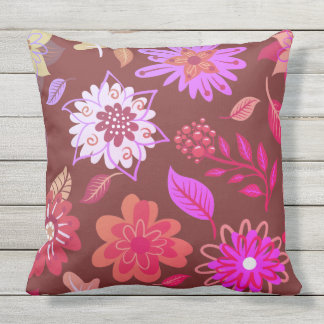 Flowery cushion Spring in Rosa Party