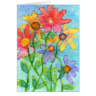 Flowery Day Card