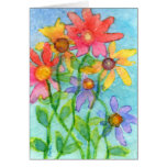 Flowery Day Greeting Cards