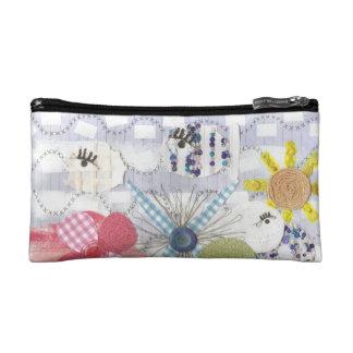 Flowery Fish World Cosmetic Bag