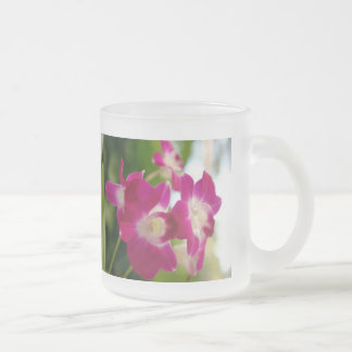 Flowery Frosted Mug ...
