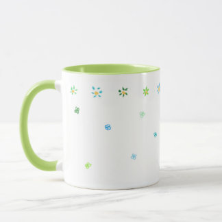 Flowery & Hunter Ringer Lime Mug
