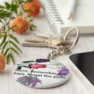 Flowery keyring for mums keychain