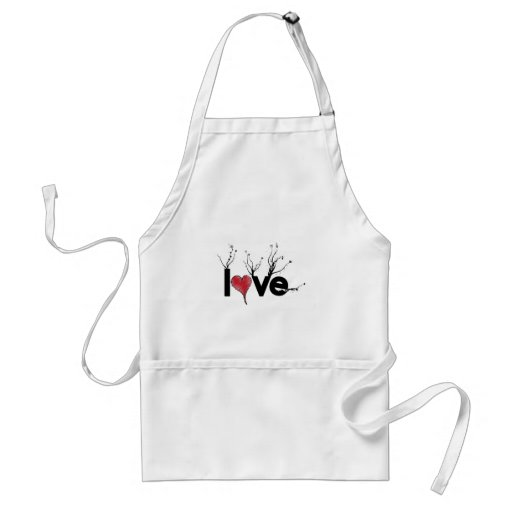 Flowery Love Nature Apron