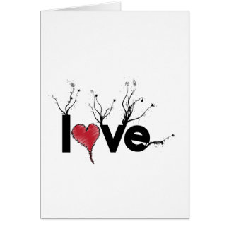 Flowery Love Nature Card