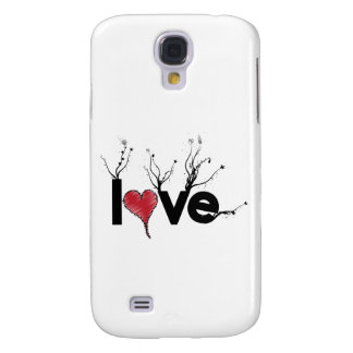 Flowery Love Nature Galaxy S4 Cover