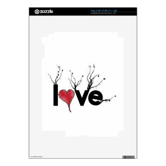 Flowery Love Nature iPad 2 Decals