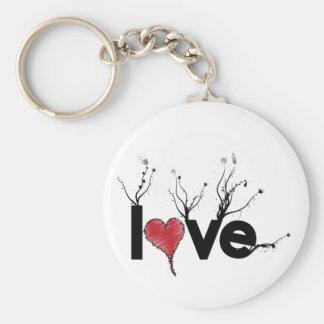 Flowery Love Nature Keychain