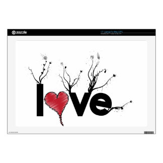 Flowery Love Nature Laptop Skin