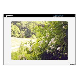 "Flowery Meadow 15"" Laptop Decal"