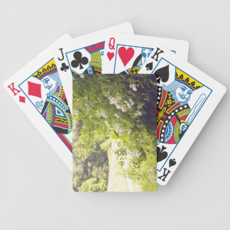 Flowery Meadow Bicycle Playing Cards