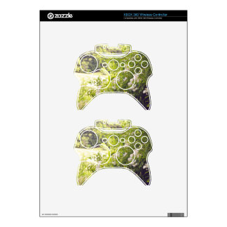 Flowery Meadow Xbox 360 Controller Decal