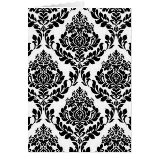 Flowery Pattern Card