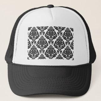 Flowery Pattern Trucker Hat