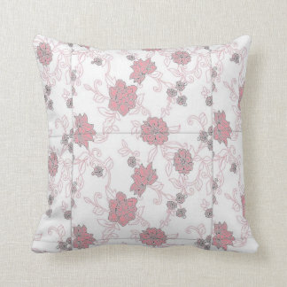 flowery pillow