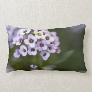 Flowery Pillow throwpillow