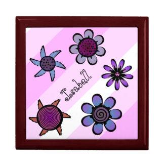 Flowery Pink Keepsake Box