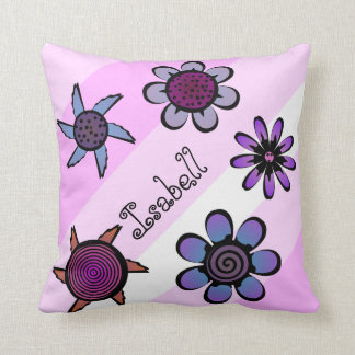 Flowery Pink Pillow