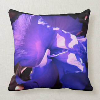Flowery Purple Pillow