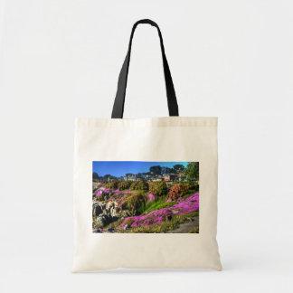 Flowery Slope Tote Bag