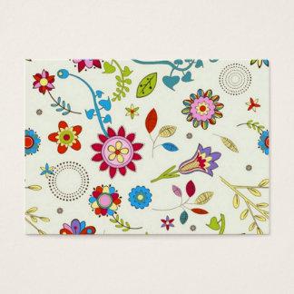 flowery standard business card