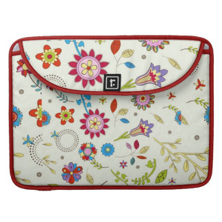 flowery standard sleeve for MacBook pro