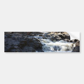 Flowing Below Bumper Sticker