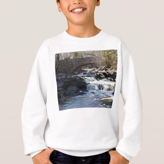 Flowing Below Sweatshirt