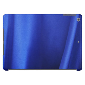 Flowing Blue Silk Fabric Abstract Case For iPad Air