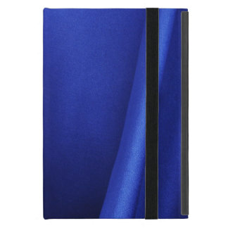Flowing Blue Silk Fabric Abstract Cases For iPad Mini