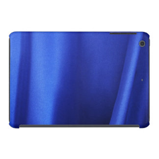 Flowing Blue Silk Fabric Abstract iPad Mini Retina Cover