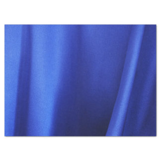 """Flowing Blue Silk Fabric Abstract Tissue Paper 17"""" X 23"""" Tissue Paper"""