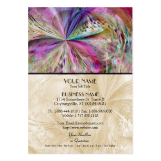 Flowing Color, Abstract Artwork Business Card