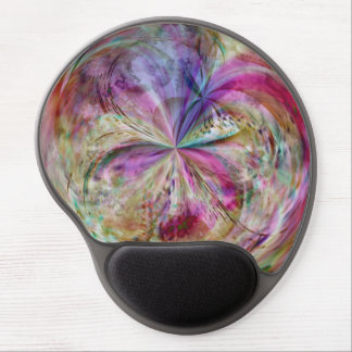 Flowing Color, Abstract Artwork Gel Mouse Pad