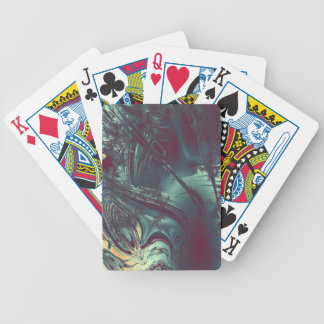 Flowing energy playing cards